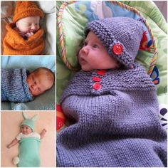 Knitted Baby Cocoons The Cutest Collection