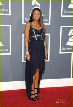Jennifer Hudson - Grammys 2011 Red Carpet