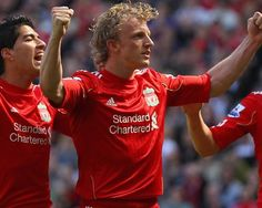 DIRK KUYT aka Enertizer Bunny! You will be sorely missed on the Anfield turf! YNWA
