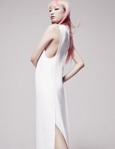 How to Wear WhitePhotograph by Jerome Corpus; styled by Caroline… Visit Her Style Guide for more