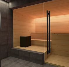 35 The Best Home Sauna Design Ideas You Definitely Like - No matter what you're shopping for, it helps to know all of your options. A home sauna is certainly no different. There are at least different options. Spa Sauna, Sauna Shower, Sauna Steam Room, Sauna Room, Basement Sauna, Sauna Lights, Modern Saunas, Piscina Spa, Ideas