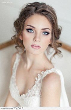 Idealny makijaż ślubny - 20 inspiracji - TwojaSuknia.pl na Stylowi.pl / Jeśli ślub to >> slubpelenmilosci.pl <3