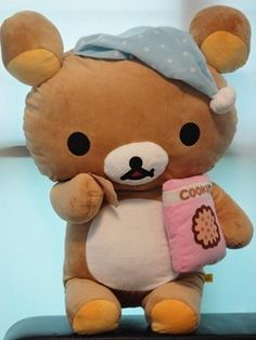 Cutest San x character ever!!!! I luv rilakkuma!!