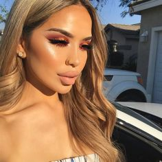 """9,508 Likes, 107 Comments - @iluvsarahii on Instagram: """"I look like about to cry with this sun in my eyes but I wanted to get a photo of my makeup with the…"""""""