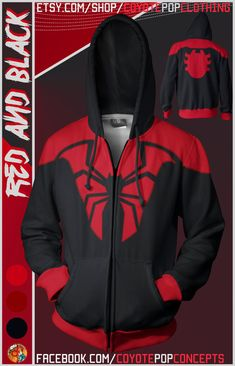 Kapuzenpullover Marvel Spiderman Sweatshirt Jacke Anthrazit Disney