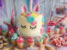 My babies unicorn cake made by yours truly.