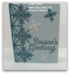 Snowflake Sentiments Bundle http://www.starzlstamps.com/2017/08/snowflake-sentiments-stamp-set-swirly-snowflakes-thinlits-dies-bundle-hearts-come-home-stamp-hometow.html