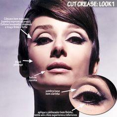 Franci Halat - MODA: Makeup Maquiagem Anos 60