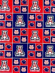 University of Arizona Fabric
