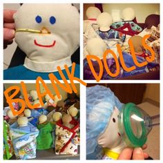 Connecting with Compassion: Confessions of two Child Life Specialists: Toy Tuesday: Blank Dolls
