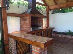 Diy Outdoor Kitchen, Outdoor Oven, Backyard Patio Designs, Backyard Pergola, Parrilla Exterior, Modern Patio Design, Indoor Bbq, Outdoor Grill Station, Barbecue Design