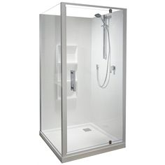 Fashioned bathroom showers supplied by leading and exclusive brands such as Athena, Atlantis, Caroma and Clearlite. Plumbing World is NZ's Number One Plumbing Merchant by Choice. How To Clean Chrome, Pivot Doors, Door Sets, Safety Glass, Shower Enclosure, Door Design, Glass Door, Plumbing, Basin