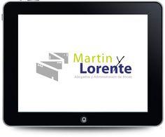 Creación de marca para Martin y Lorente