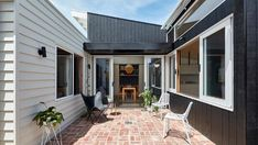 Step inside this Melbourne home with two classic Australian lean-tos