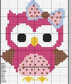 Cross Stitch Owl, Butterfly Cross Stitch, Cross Stitch Animals, Cross Stitch Charts, Cross Stitch Designs, Cross Stitching, Cross Stitch Embroidery, Embroidery Patterns, Cross Stitch Patterns