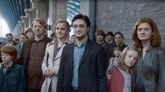 La scène finale de la saga Harry Potter.