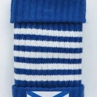 Nova Scotia Flag Blue and White Striped Green Sleeve – GS-020