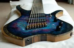 Custom 8-string guitar