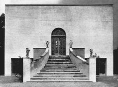 Piero Bottoni and Mario Pucci Restoration of Villa Muggia, Imola, Italy, 1938