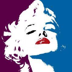 @PinFantasy - Marilyn pop art ~~ For more: - ✯ http://www.pinterest.com/PinFantasy/gente-~-marilyn-monroe-art/                                                                                                                                                      Más
