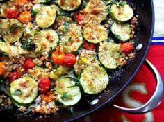 Zucchini Tomato Gratin by aimee