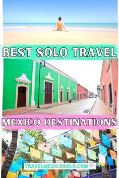 Solo Travel Mexico: 20 Destinations You Need To Visit Costa Rica Travel, Peru Travel, Mexico Travel, Canada Travel, Solo Travel, Travel Usa, Travel Tips, Luxury Travel, Travel Ideas