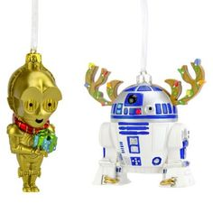 2-Piece 3D Star Wars Ornament Set from Target...totally want!