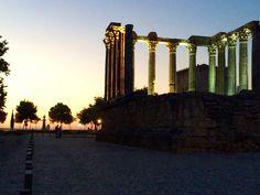 Templo romano de Évora.