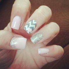 Valentine's nails... ♥♥♥