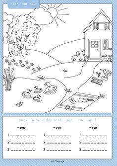 Classroom Language, Spelling, Diagram, School, Children, Kids, Stage, Young Children, Young Children