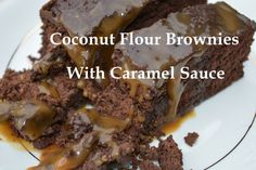 Do you like chocolate and want to give yourself a treat now and then?  Here's a recipe for a brownie and caramel sauce you will love.