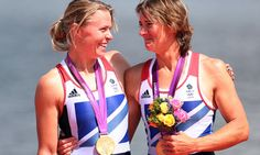 Katherine Grainger Anna Watkins showing that women are doing a fantastic job at this years's Olympics. Can't believe 2012 is the 1st year all nations have female competitors!