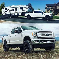 2017 Ford Super Duty equipped with a Fabtech System New Trucks, Lifted Trucks, Ford Trucks, Radius Arm, Ford Super Duty, Ford Raptor, Tractors, Ranger, Wheels