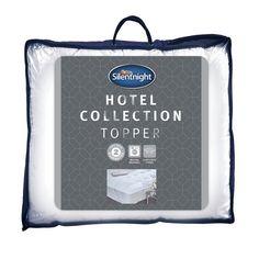 Buy Silentnight Luxury Hotel Collection Mattress Topper - Single | Mattress toppers | Argos
