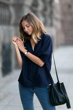 NAVY & DENIM - FashionMugging