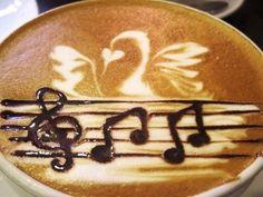 .·:*¨¨*:·. Coffee ♥ Art.·:*¨¨*:·.  latte