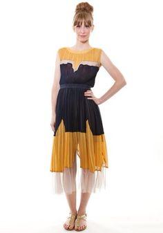 Mustard dress - perfect for summer!
