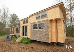 rustique cabine minuscule maison-1