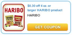 HOT Haribo Coupon! Save $.30 Per Bag!