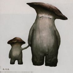 Dark Souls Concept Art - Mushroom Concept Art