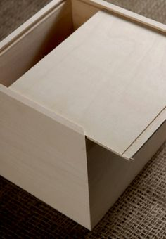 Wood Envelope Box   with Sliding Top (holds A2 envelopes) $9.99 each / 3 for $9 each