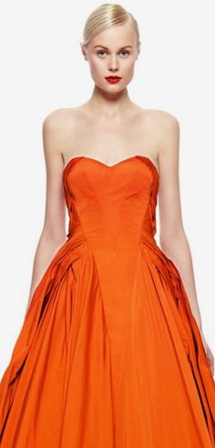 Orange Grove, Strapless Dress Formal, Formal Dresses, Orange Crush, Happy Colors, Orange Color, Shades, Inspiration