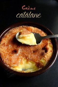 la crème catalane(recette avec 4 jaunes d'oeuf et fleur d'oranger)