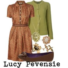 """Lucy Pevensie"" by allij28 on Polyvore ....call me old fashioned but I love it"