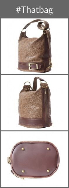 The convertible bag in a yummy shade of mocha.  bags and purses designer