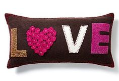 LOVE or any other word.  This is cute, colourful and fun.