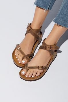 1416b4aea46a Shop our Yara Birkenstock at FreePeople.com. Share style pics with FP Me