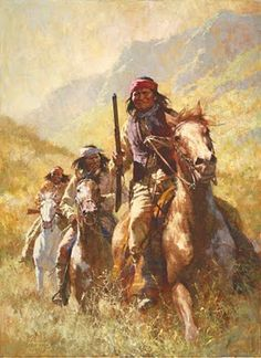 Howard Terpning - Legend Of Geronimo (http://www.hiddenridgegallery.com/store/howard-terpning/legend-of-geronimo.html)
