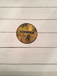 Artist Trading Coin, Lost Coast Design stamps