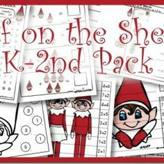 Free Elf on the Shelf K-2nd Printable Pack